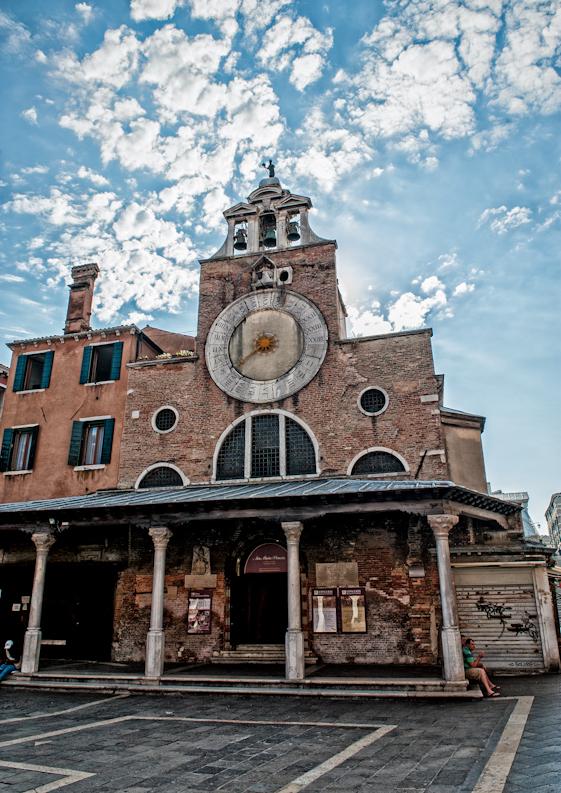 chiesa di san Giacometo vicino al mercato di Rialto