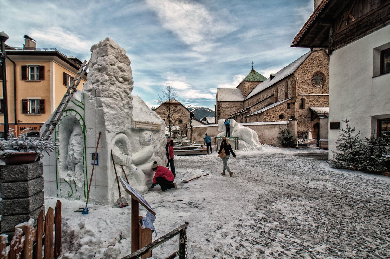 sculture di neve-studiogabriotomelleri