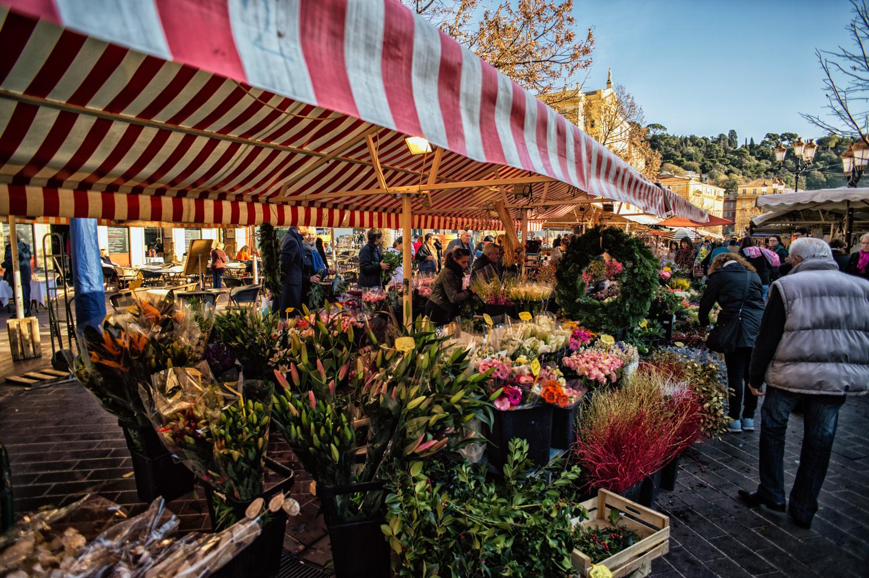 nizza-studiogabriotomelleri- mercato di Cour Saleya