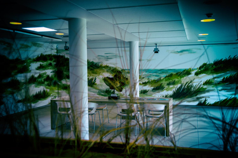 Il museo della pesca di Oostduinkerke e il Peerdevisscher (ristorante speciale).