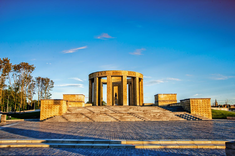 Nieuwpoort e il memoriale di Alberto I sul mare del nord