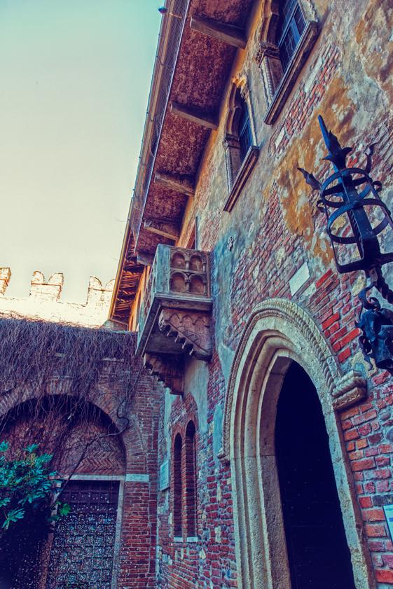 balcone di giulietta e romeo foto