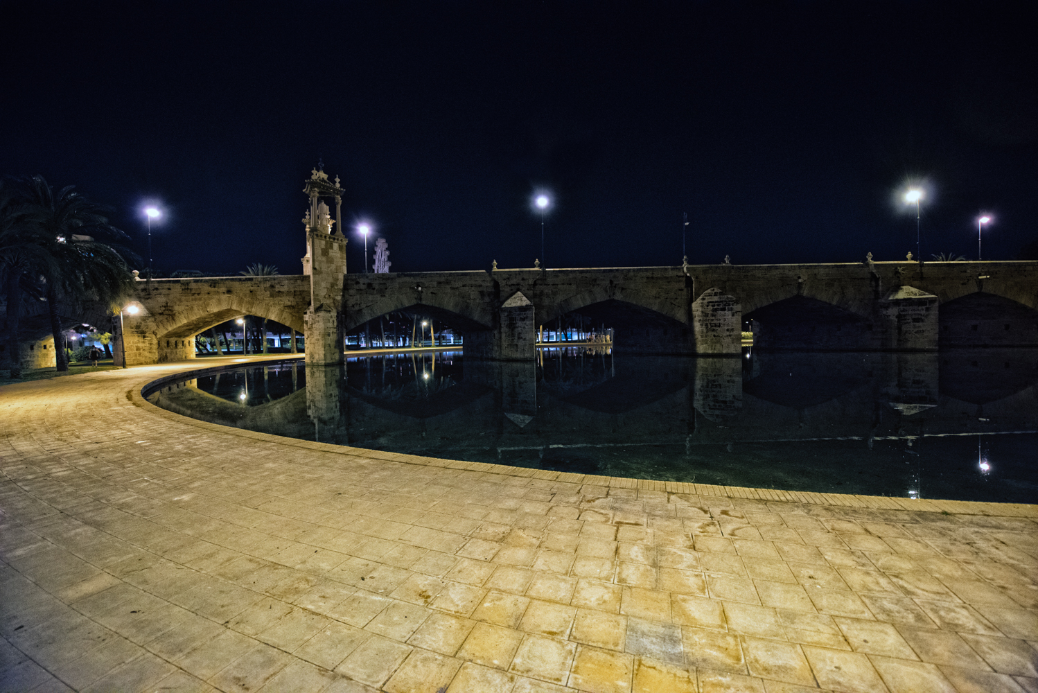 fiume by night-parco del turia