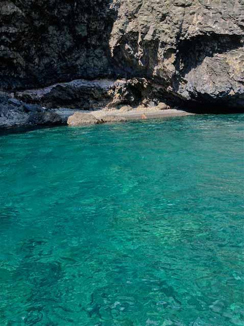 spiaggette dietro isola